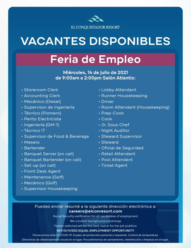 Feria de empleo 2021